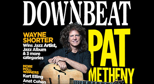 Pat Metheny named to the Downbeat Hall of Fame