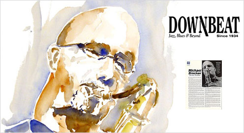 Michael Brecker Is Inducted into the Downbeat Magazine Hall of Fame