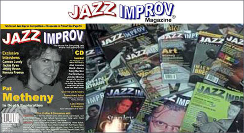 Jazz Improvisation Magazine Interview